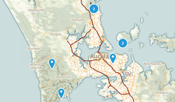Auckland, Auckland Region Wildlife Map