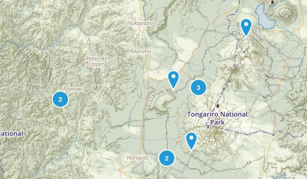 Papakai, Manawatu-Wanganui Region Birding Map