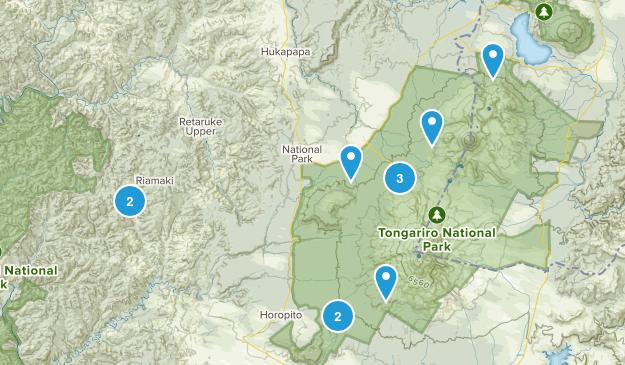 Papakai, Manawatu-Wanganui Region Nature Trips Map