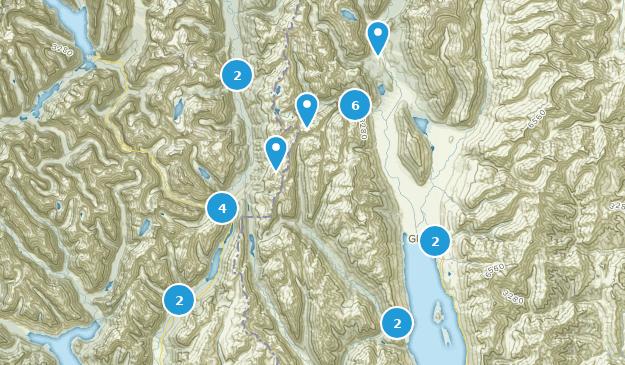 Glenorchy, Otago Bird Watching Map
