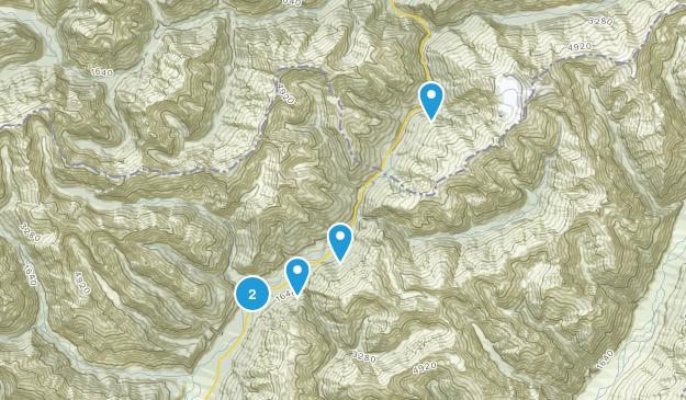 Makarora, Otago Region Walking Map