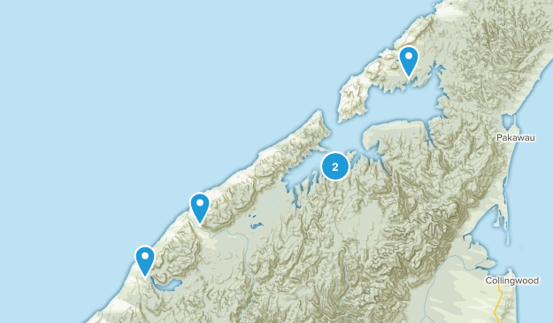 Rakopi, Tasman Region Birding Map