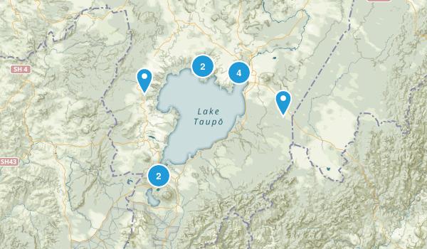 Kinloch, Waikato Region Walking Map