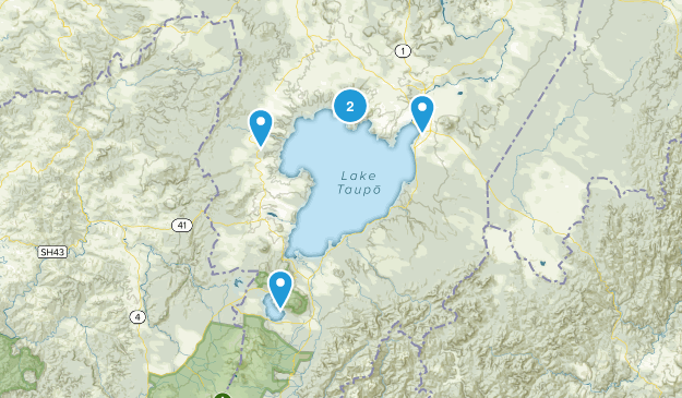 Kinloch, Waikato Region Wildlife Map