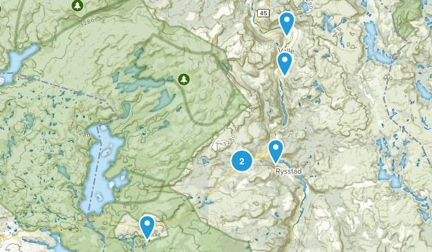 Valle, Aust-Agder Kid Friendly Map