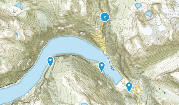 Stranda, Møre og Romsdal Hiking Map
