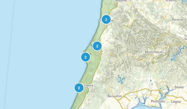 Aljezur, Faro Backpacking Map