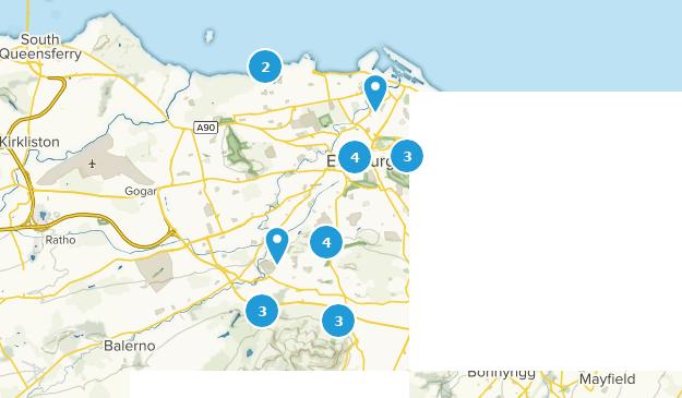Map Edinburgh.Best Walking Trails Near Edinburgh Edinburgh Scotland Alltrails