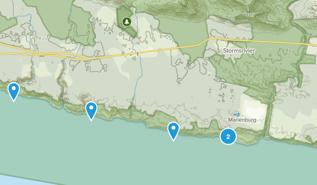 Kou-Kamma NU, Eastern Cape Views Map