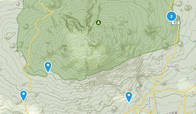 Seogwipo-si, Jeju Nature Trips Map