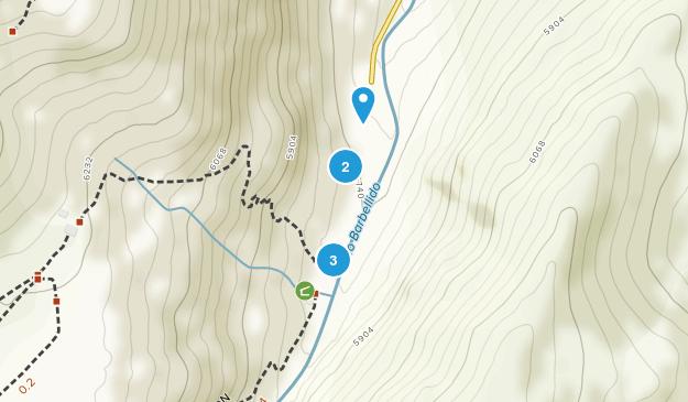 San Juan de Gredos, Ávila Hiking Map