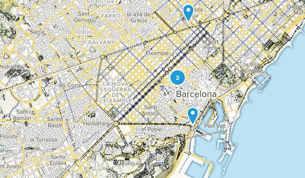 Barnatresc, Catalonia Kid Friendly Map