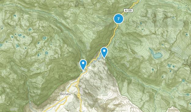 Benasque, Huesca Hiking Map