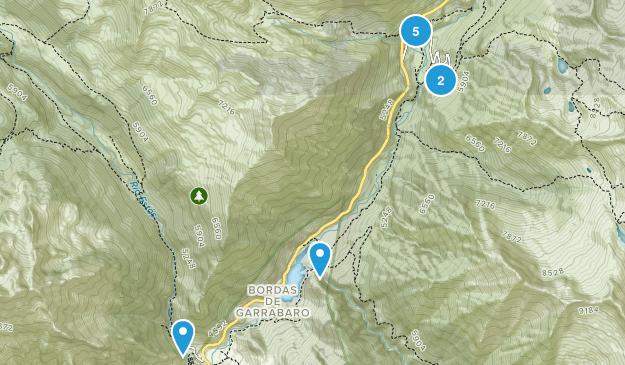 Benasque, Huesca Walking Map