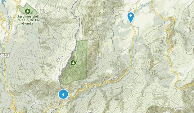 Rascafría, Madrid Hiking Map