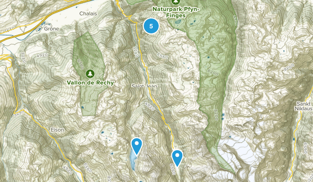 Chandolin, Valais Birding Map
