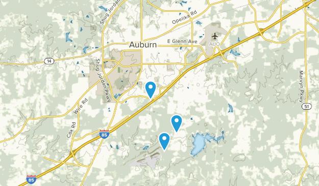 Best Dogs On Leash Trails near Auburn, Alabama   AllTrails