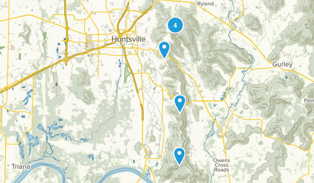Huntsville, Alabama Kid Friendly Map