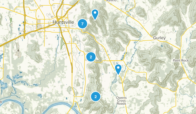 Huntsville, Alabama Views Map