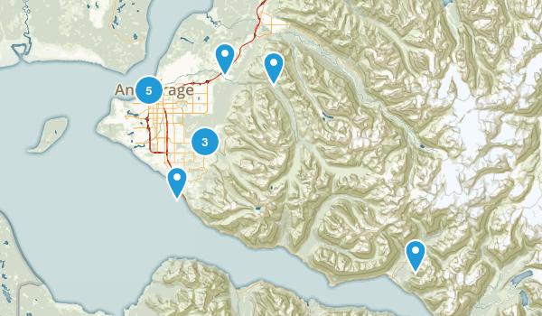 Anchorage, Alaska Kid Friendly Map