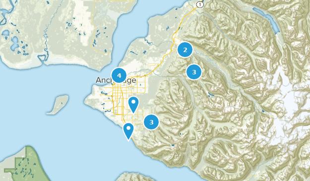 Beste Flusswege in der Nähe von Anchorage, Alaska | AllTrails