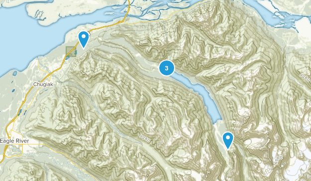 Chugiak, Alaska Forest Map