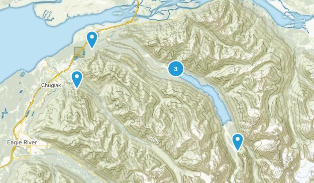 Chugiak, Alaska Views Map