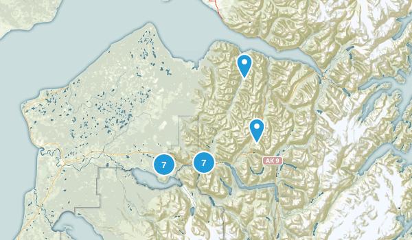 Cooper Landing, Alaska Nature Trips Map
