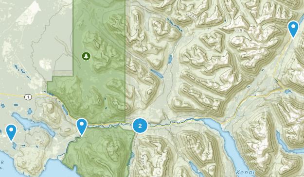 Cooper Landing, Alaska Wildlife Map