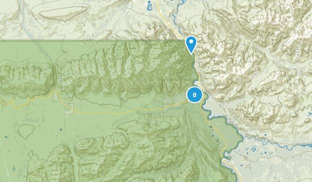Denali National Park, Alaska Nature Trips Map