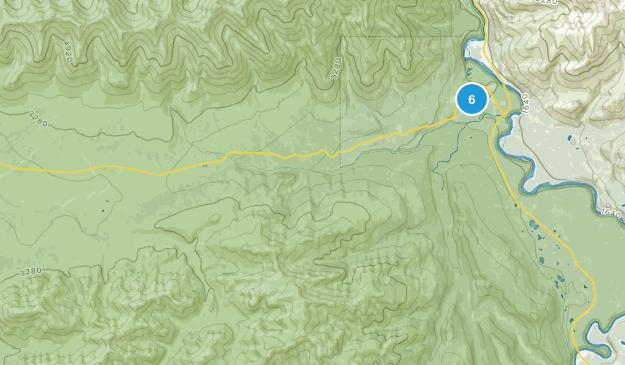 Denali National Park, Alaska Wildlife Map