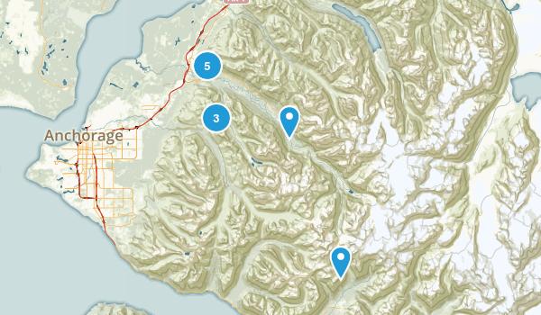 Eagle River, Alaska Nature Trips Map