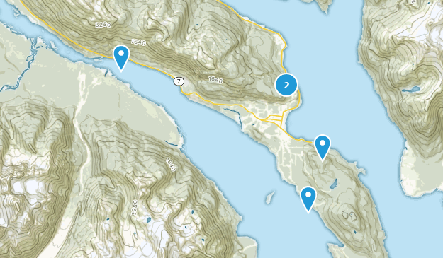 Haines, Alaska Hiking Map
