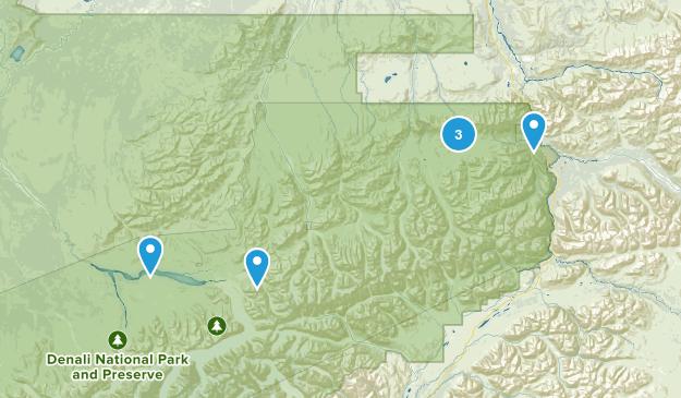 Healy, Alaska Kid Friendly Map