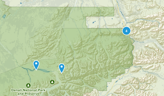Healy, Alaska Nature Trips Map