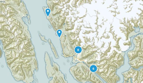 Juneau, Alaska Birding Map