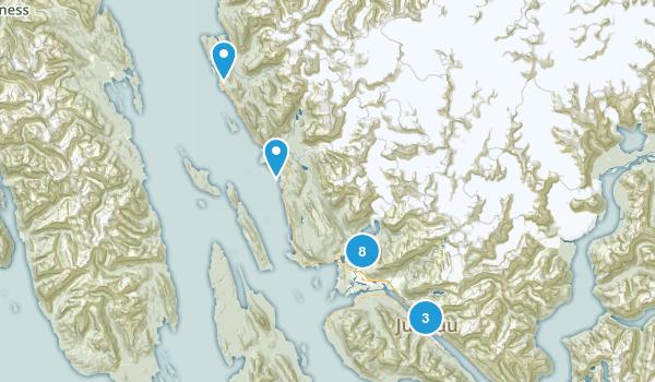 Juneau, Alaska Kid Friendly Map