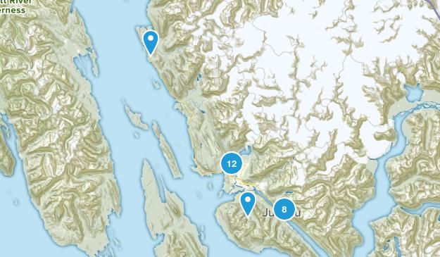 Juneau, Alaska Walking Map