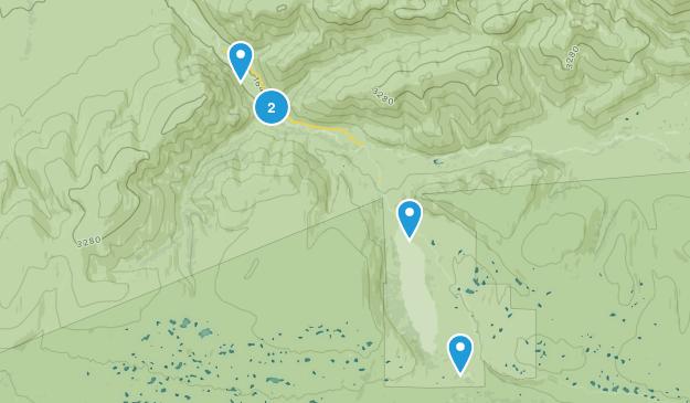 Kantishna, Alaska Hiking Map