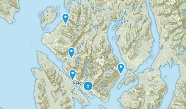 Ketchikan, Alaska Birding Map