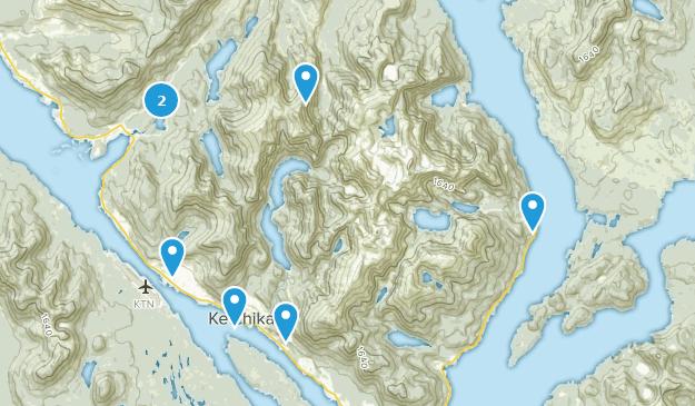 Best Views Trails near Ketchikan, Alaska | AllTrails on sitka alaska, outline map of alaska, juneau alaska, map of homer alaska, large print map of alaska, map of wasilla alaska, map of southeast alaska, map of naknek alaska, juno alaska, ketchican alaska, skagway alaska, map of seward alaska, map of alaska inside passage, map of kotzebue alaska, map of craig alaska, map of alaska and canada, map of vancouver bc, road map of alaska, map of denali alaska, map of hoonah alaska,