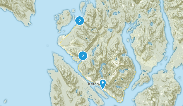 Best Wildlife Trails near Ketchikan, Alaska | AllTrails on map of southeast alaska, map of wasilla alaska, ketchican alaska, map of craig alaska, map of naknek alaska, large print map of alaska, map of hoonah alaska, juno alaska, map of alaska inside passage, sitka alaska, map of alaska and canada, map of kotzebue alaska, map of seward alaska, map of vancouver bc, outline map of alaska, map of denali alaska, road map of alaska, skagway alaska, map of homer alaska, juneau alaska,