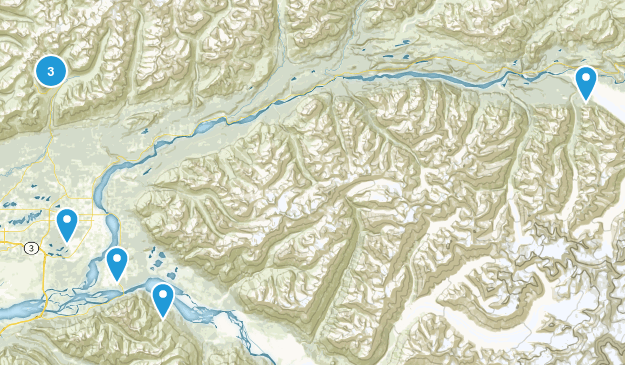 Palmer, Alaska Birding Map