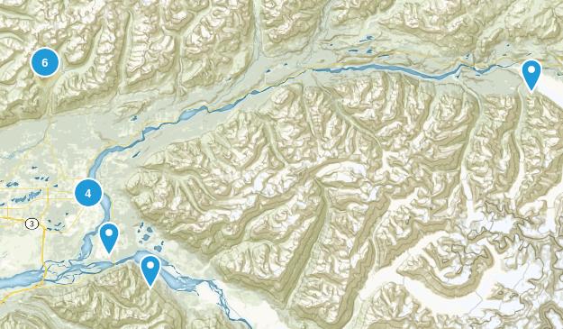 Palmer, Alaska Views Map