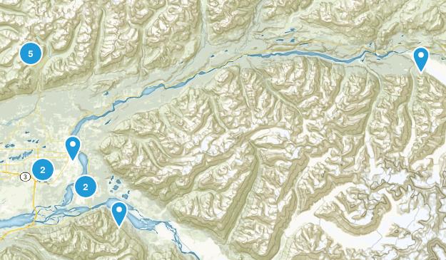 Palmer, Alaska Walking Map