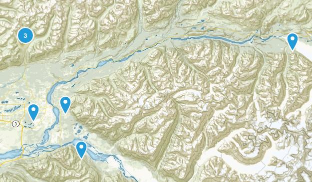Palmer, Alaska Wild Flowers Map