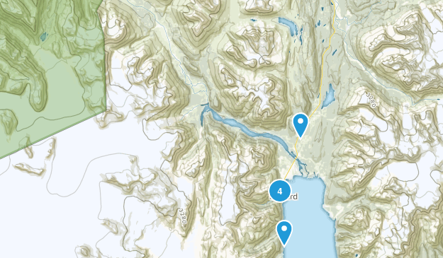 Seward, Alaska Birding Map