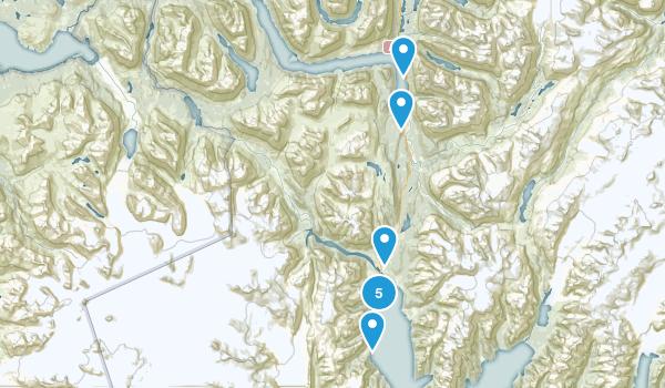 Seward, Alaska Hiking Map