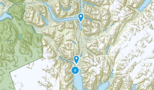 Seward, Alaska Nature Trips Map
