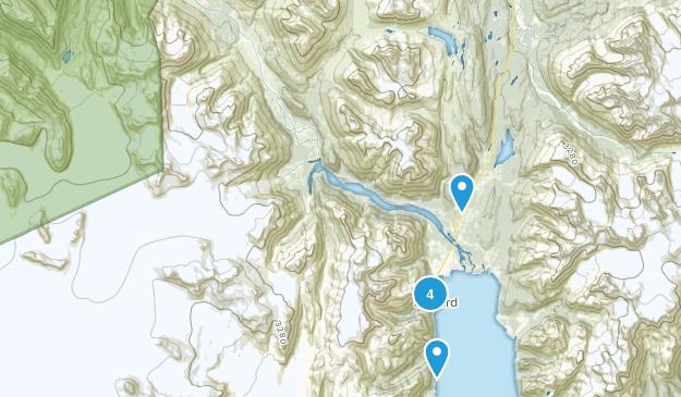 Seward, Alaska Walking Map